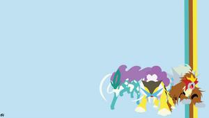 Legendary Beasts (Pokemon) Minimalist Wallpaper