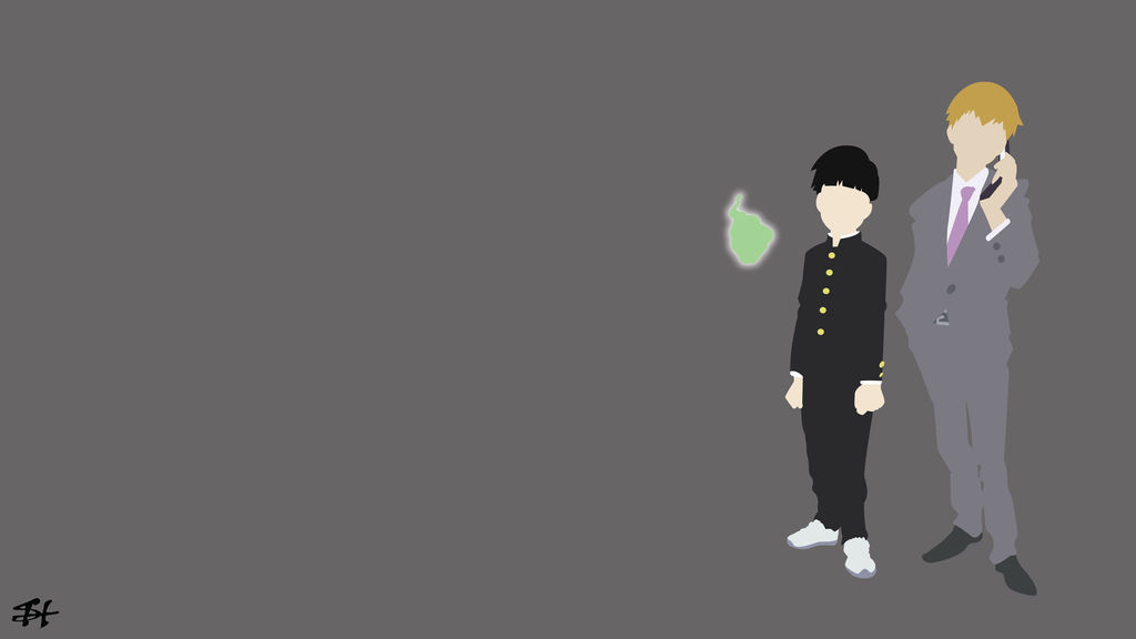 Mob Psycho 100 Minimalist Wallpaper By Slezzy7 On Deviantart