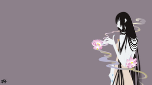 Yuuko Ichihara (Xxxholic) Minimalist Wallpaper v2
