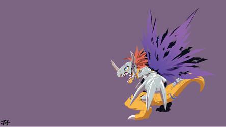 Metal Greymon (Digimon) Wallpaper