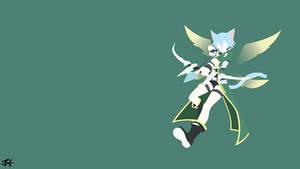 Shinon (SAO) Minimalist Wallpaper by slezzy7