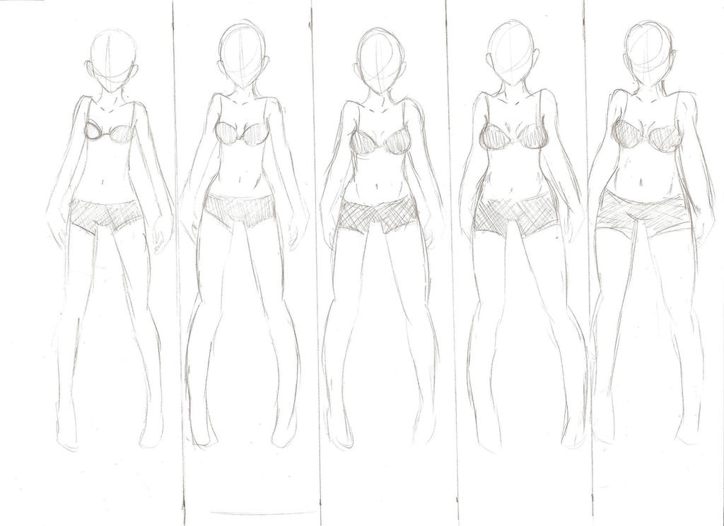 Different Body Shapes Reference/Base by seriia