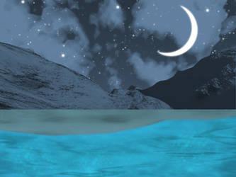 Moon Beach by munchyfly