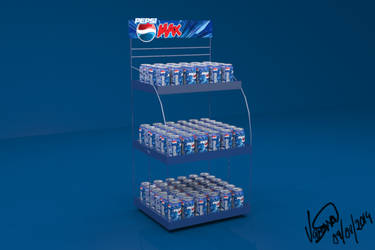 PEPSI can rack by munchyfly