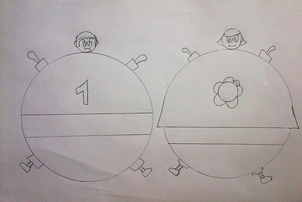 Ballon vilagers by j-matt