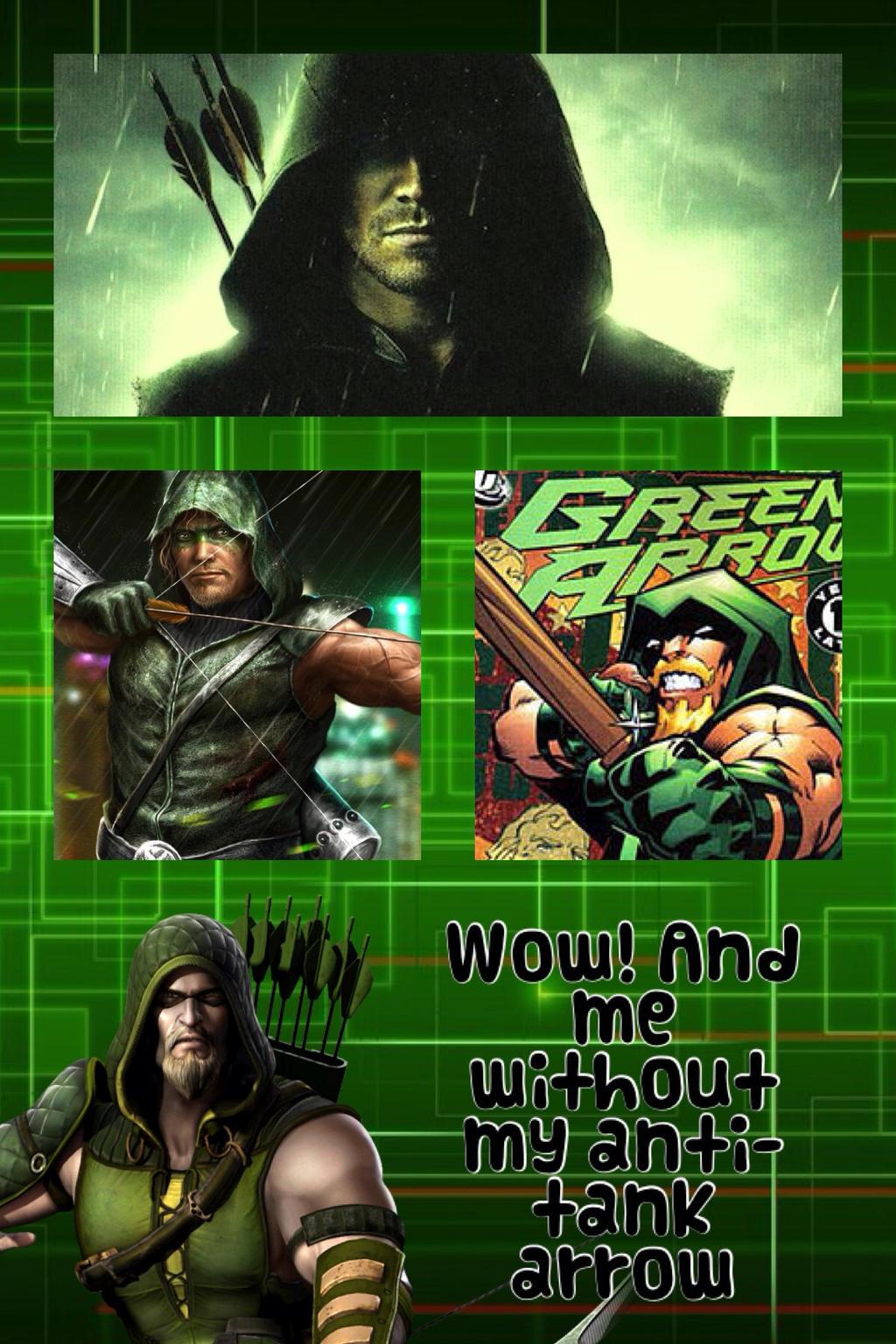 Green Arrow Wallpaper By Mightymack1001