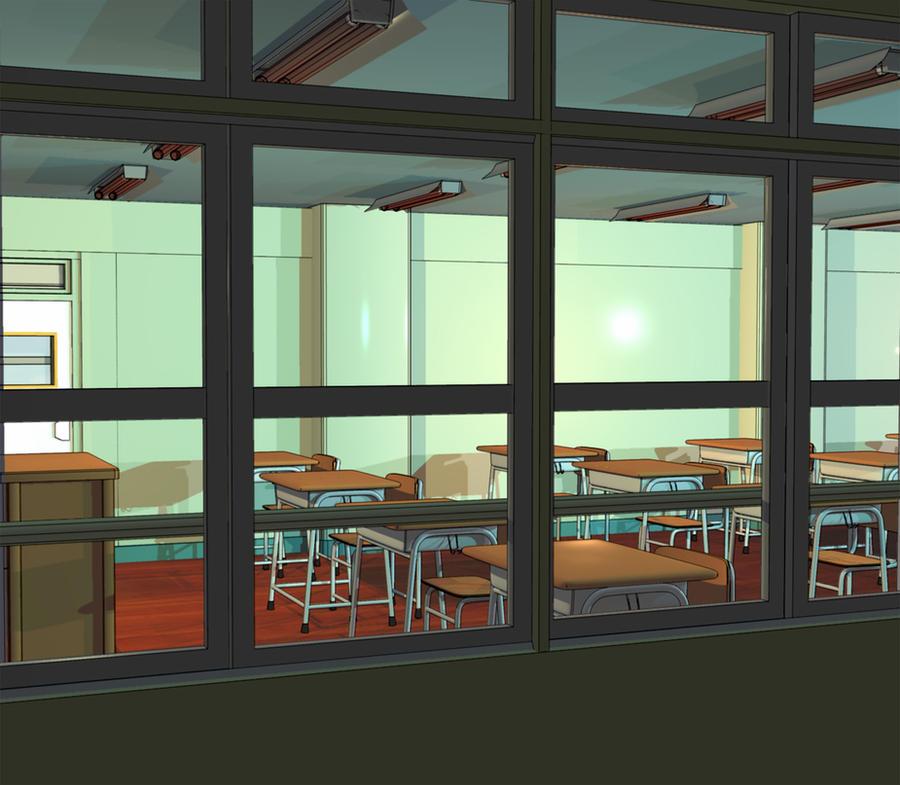 Classroom Wallpaper Anime Anime Background Classroom