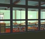 Anime Background: Classroom III