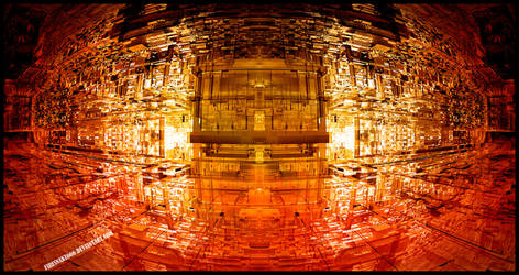 Red Glass Tower - Mandelbulb 3D