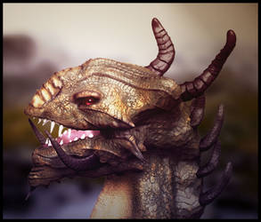 Dragon Head Concept II (Funky Light)