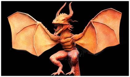 Zbrush Doodle - Dragon Concept