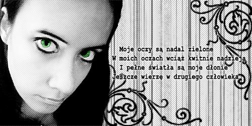 Green eyes by Uliczka