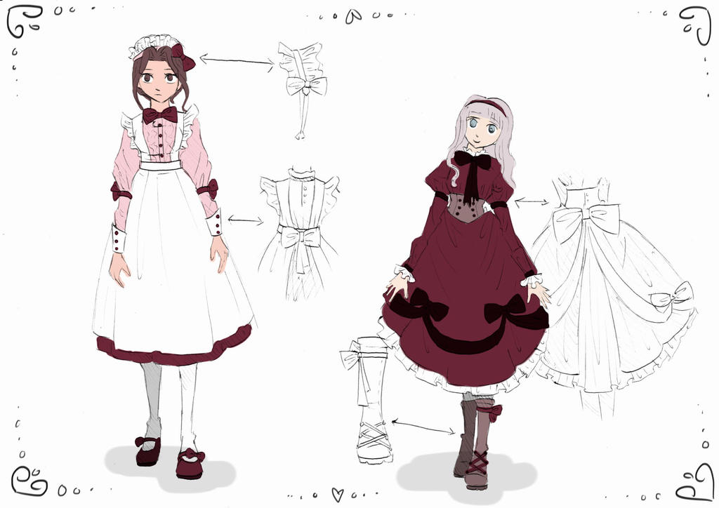 Kuroshitsuji Character Design Book : Kuroshitsuji character designs by saraah on deviantart
