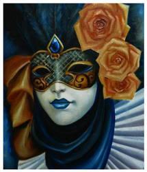 Venetian Mask by Misty-Mirage