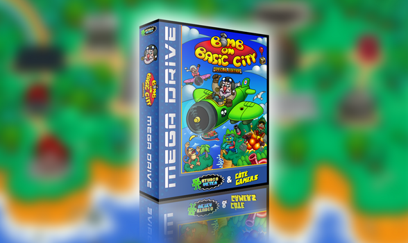 Mega Drive - Bomb On Basic City Special Edition