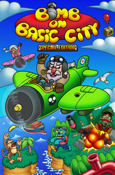 Bomb On Basic City - Closer look at cover art