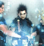Cloud, Zack, and Angeal