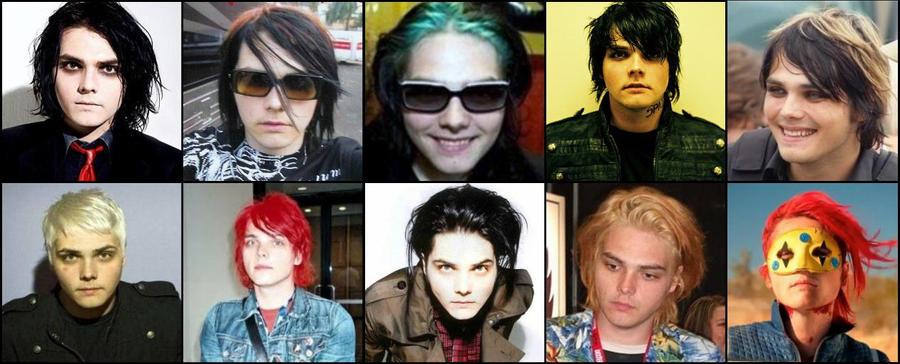 Gerard's Hair Evolution by AmeliaKader on DeviantArt