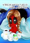 anna Deadpool with snowmans
