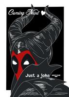 maleficent  deadpool by nuyanata