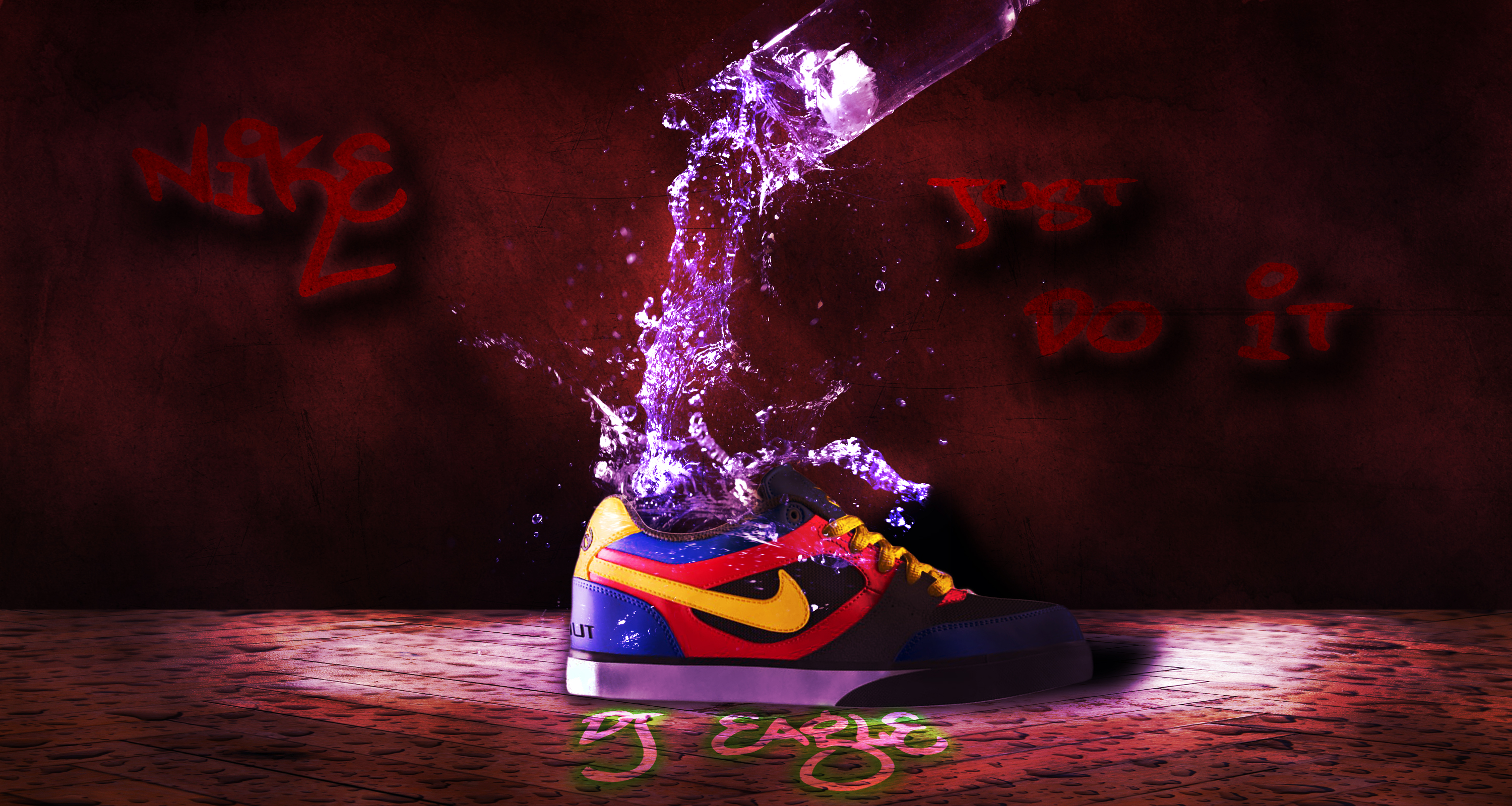 Nike Just DO IT By Djeagle On DeviantArt 3000x1600 · Nike Just Do It Add By  Gethro92 On DeviantArt 900x605