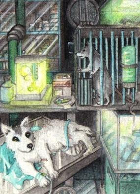 Laboratory animals by Ermelin