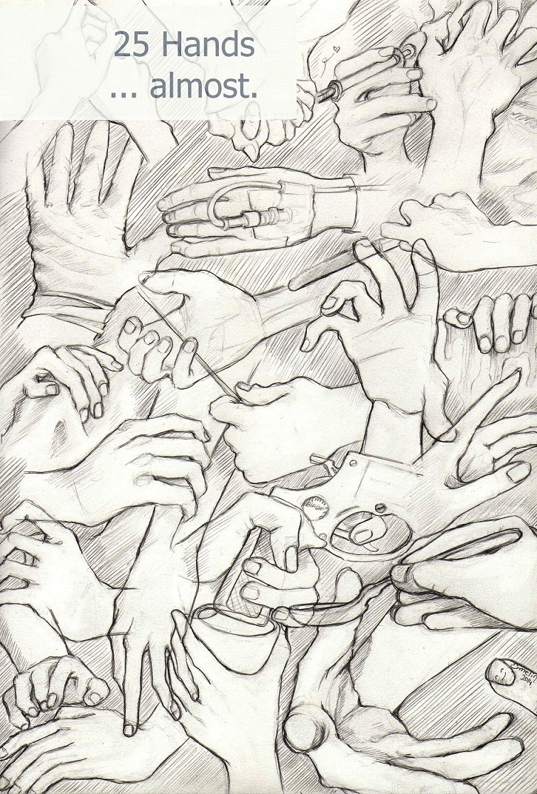 25 Hands by Ermelin