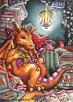 The lazy Dragon by Ermelin