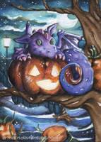 Purple Tree dragon by Ermelin