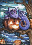 Purple Tree dragon
