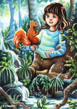 A little Centaur and her Friend