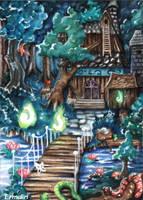 Cursed Swamp by Ermelin