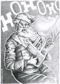 Chainsaw Santa