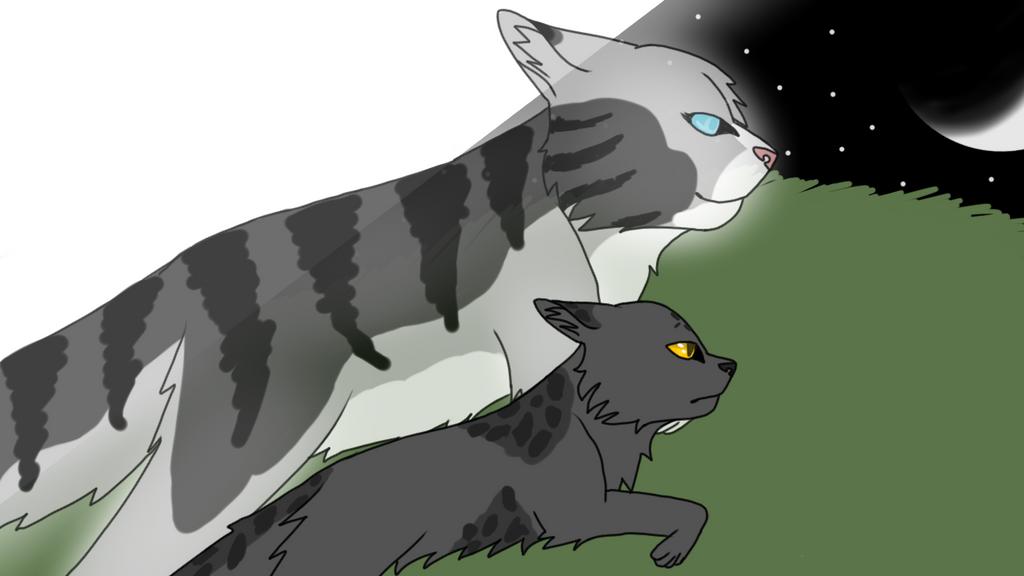 Bravestar and Runningfur by RavenfeatherOfRC