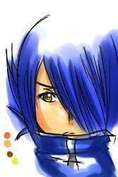 Agito Coloring Practice by animedemon367