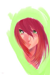 Red hair by animedemon367