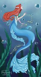 Mermaid by frid-finnr