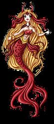 Commission: Mermaid by frid-finnr