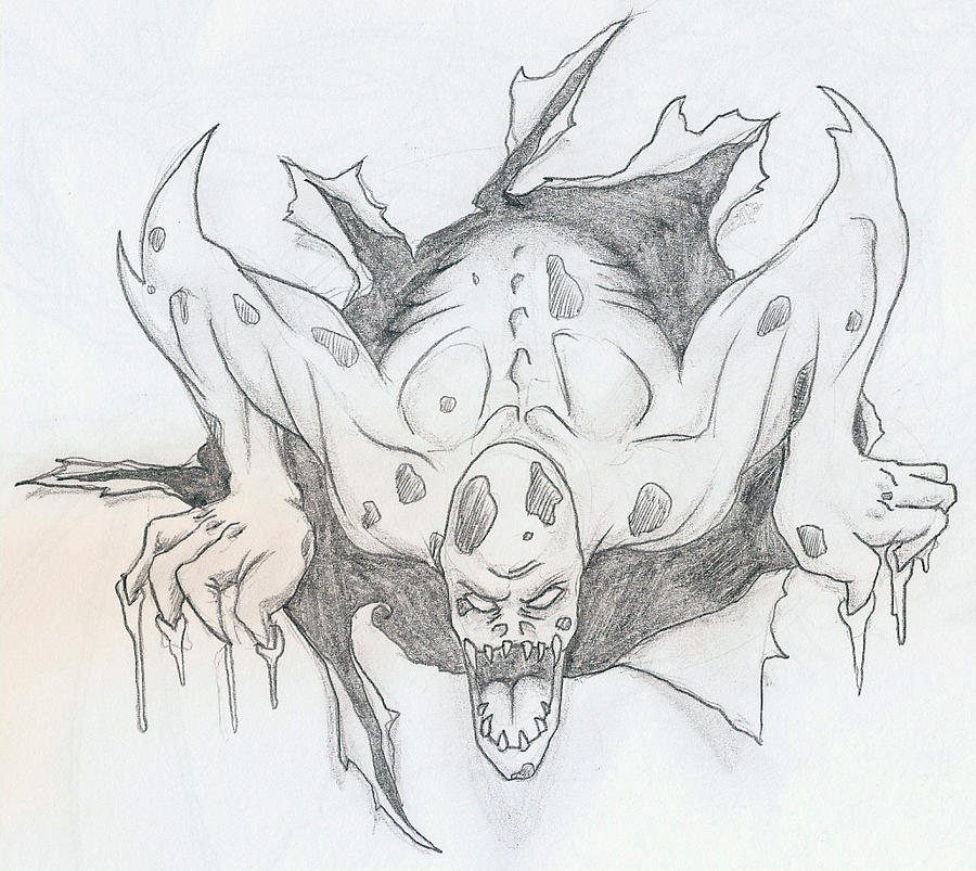Tattoo Sketching Tattoo Sketch Zombie Thing by