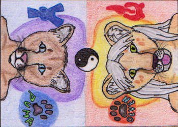 ACEO - Olven and Pumacz