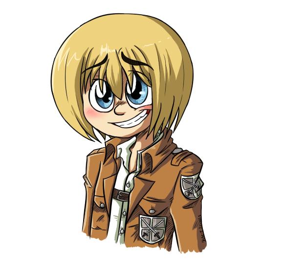 Armin Arlert by DoofusKae-T