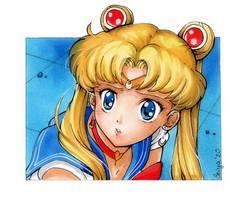 Sailor Moon redraw by seiyachan
