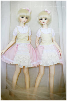 Froofy skirts and lace