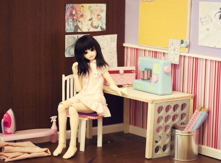 Hachi's Sewing Room by hiritai