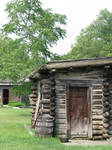 00132 - Small Log Cabins