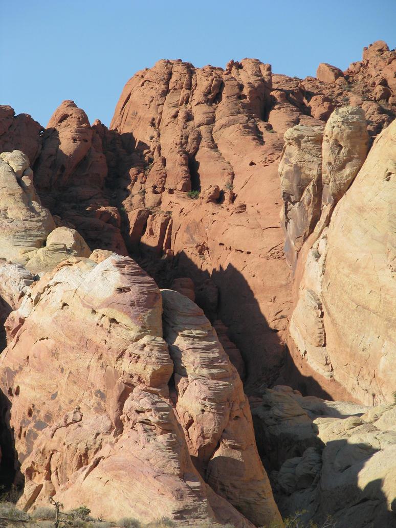 00319 - Worn Desert Rockscape by emstock