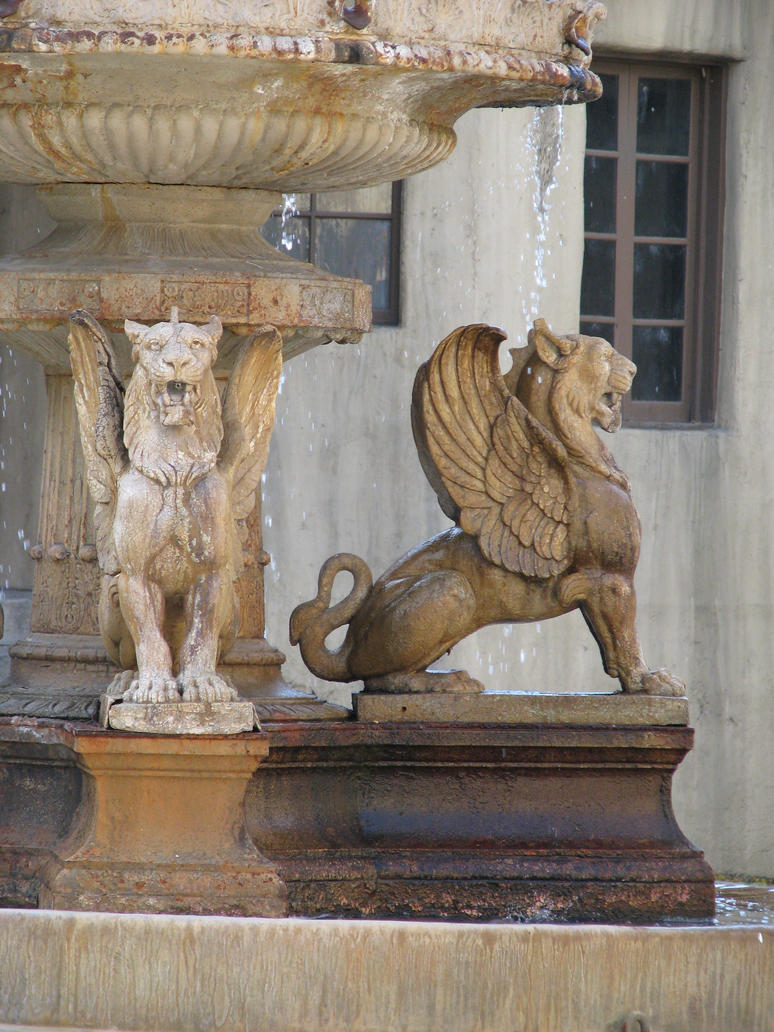 00274 - Winged Lion Fountain II by emstock