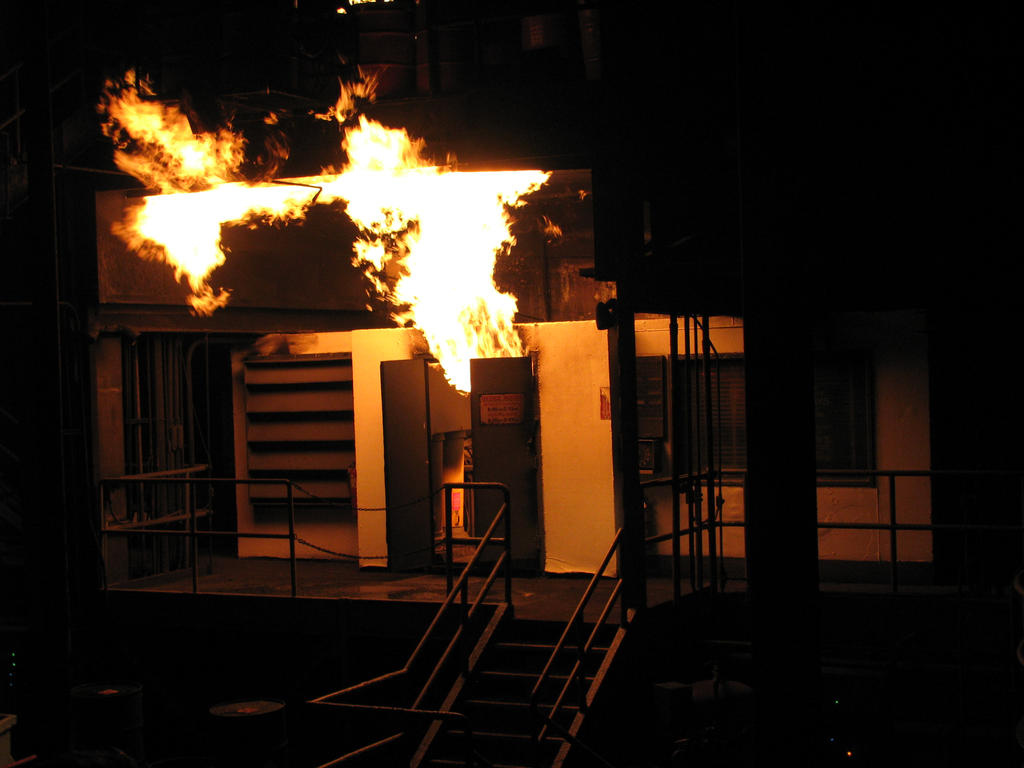 00259 - Fire Escapes Through Door by emstock