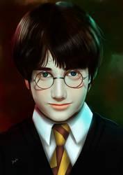 harry Potter by JBArtforkids