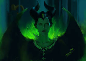 Maleficent( fan art)
